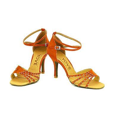 XIAMUO Anpassbare Frauen Beruf Tanz Schuhe, Schwarz, US 9 / EU 40/UK7/CN41