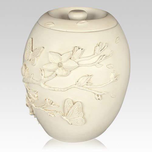 Memorials.com Hanami Cremation Urn
