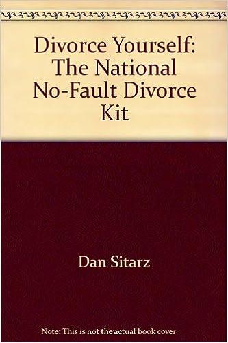 Divorce yourself the national no fault divorce kit amazon divorce yourself the national no fault divorce kit amazon dan sitarz 9780935755060 books solutioingenieria Images