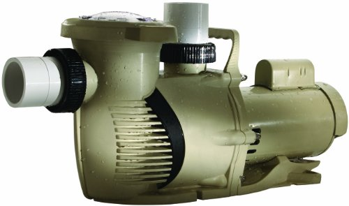 Pentair 022013 WhisperFloXF High Performance Standard Efficiency Single Speed Full Rated Pool Pump, 3 Horsepower, 230 Volt, 1 Phase by Pentair