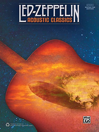 (Led Zeppelin -- Acoustic Classics: Authentic Guitar TAB)