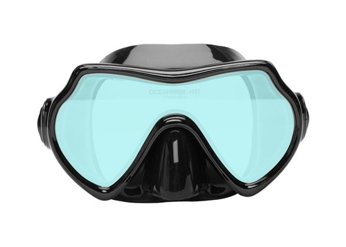 Oceanways Superview - AccuColor w/Anti-Fog Scuba/Spearfishing Dive Mask - Mask Oceanways