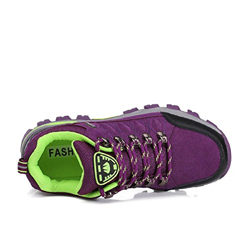 automne Randonnée Trekking Marche Homme De Printemps Outdoor Violet Pour Sneaker eté Sports Femme hiver Chaussures Lily999 xqTwOO
