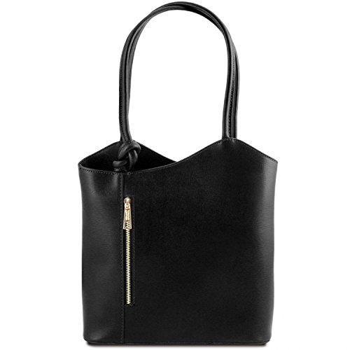Leather Patty Bag Cognac Convertible Black Saffiano Tuscany 5d6q4wd