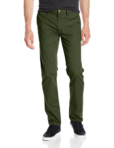 Element Men's Howland Classic Straigght Fit Pant, Rifle Green, - Eight Element