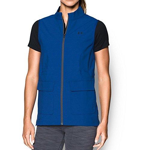 Ladies Wind Vest (Under Armour Women's Windbreaker Vest, Royal (400)/Royal, Large)