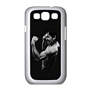 Samsung Galaxy S3 9300 Cell Phone Case White hf25 manny pacquiao dark boxing legend LSO7980740