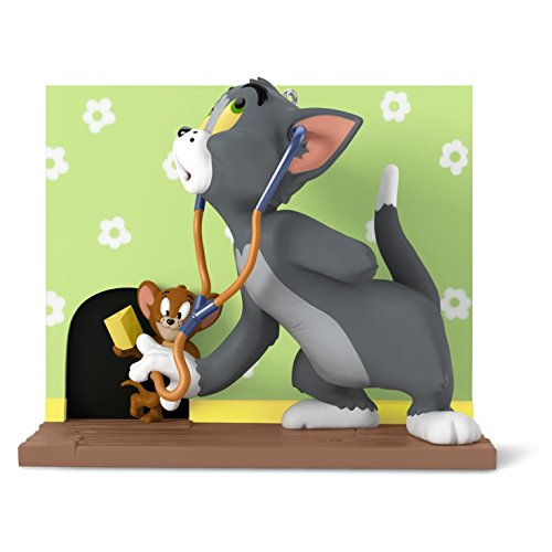 Hallmark Tom and Jerry Mouse Trouble Ornament Movies & TV