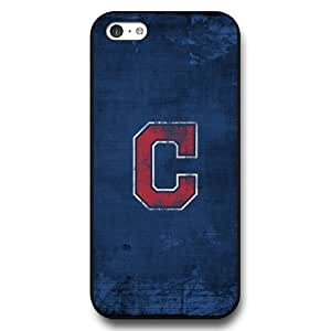 ArtPopTart iPhone 5C Case,Fashion MLB Cleveland Indians iPhone 5C Case ,Black Hard Plastic,Coolest 2015 Cell Phone Case
