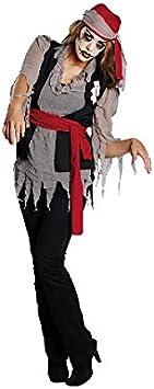 Disfraz de pirata Zombie para disfraz de Zombie para Halloween ...