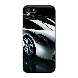 Anti-scratch And Shatterproof Lamborgini Phone Case For Iphone 5/5s/ High Quality Tpu Case by icecream design