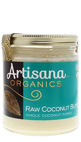 Artisana Organics - Coconut Butter, Whole Coconut Puree, Single Ingredient Handmade Rich & Thick Spread, USDA & QAI Organic Certified, Non-GMO, Vegan & Gluten Free (8 oz)