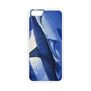 iPhone 6 Plus 5.5 Inch Cell Phone Case White Wyland Shark Waters Svctb