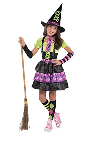 Costume Girls Witch Uk (Christy's Girls Spellbound Witch Costume (8-10)