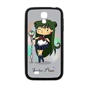 Japanese Anime Cartoon Sailor Moon Black Samsung Galaxy S4 Phone Case