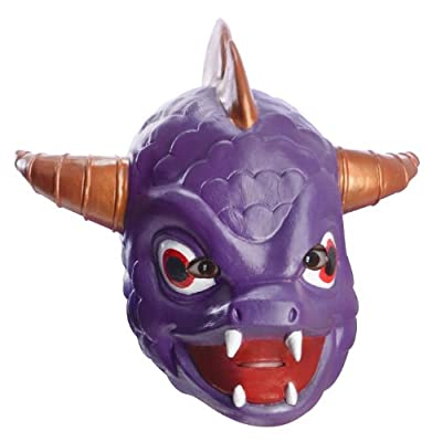 Skylanders Spyros Adventure Childs 34 Spyro Vinyl Mask by Rubies