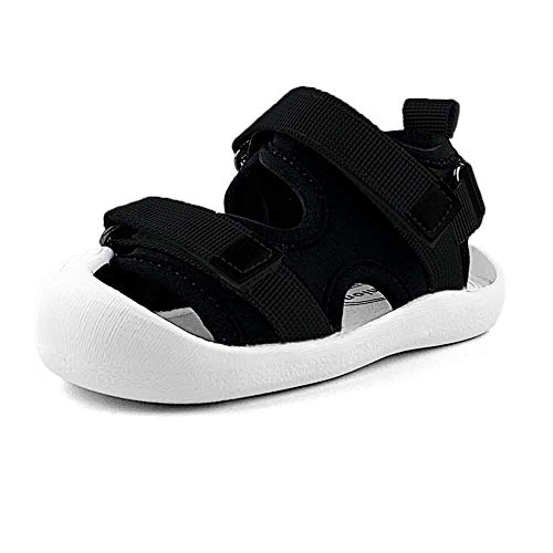 Baby Boys Girls Sports Sandals Lightweight Anti-Slip Rubber Sole Beach Aquatic Water Shoes Summer Toddler First Walking - Sandals Sole Rubber