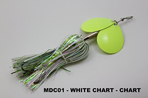 Double Cowgirl - MUSKY MAYHEM TACKLE LLC MDC (Micro Double Cowgirl)