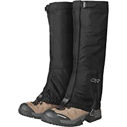 Outdoor Research Men\'s Rocky Mountain High Gaiters, Black, Large