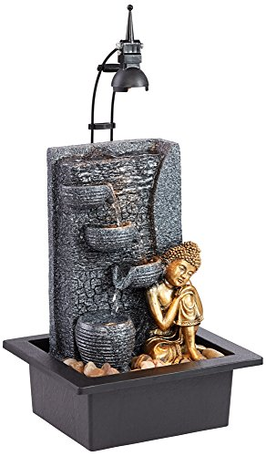 Buddha Fountain With Led Light in US - 5