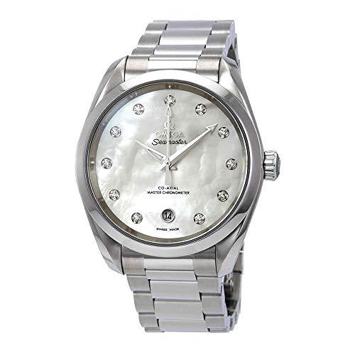 Omega Seamaster Aqua Terra Automatic Chronometer Diamond Ladies Watch 220.10.38.20.55.001