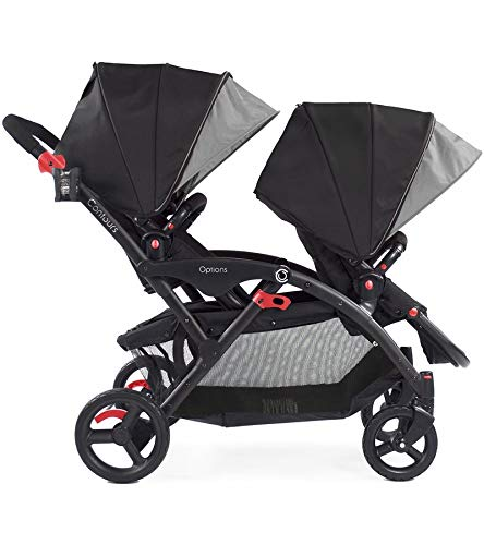 Contours Options Tandem Stroller, Shadow by Contours