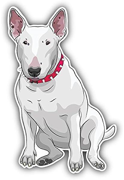 Vinilos Pegatinas Para Coches Amo mi etiqueta engomada del coche de Bull Terrier Etiquetas engomadas del coche Etiqueta linda e interesante Accesorios del coche Etiquetas engomadas del coche