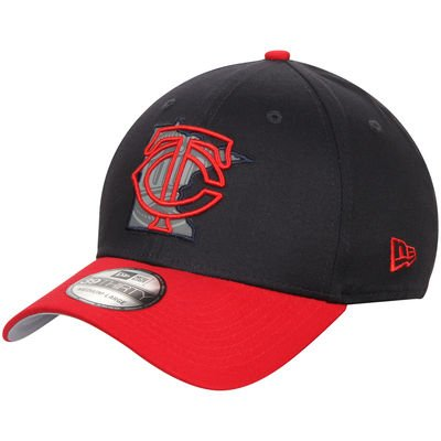 Minnesota Twins MLB New Era State Reflective 39THIRTY Stretch Fit Cap, Size Small/Medium