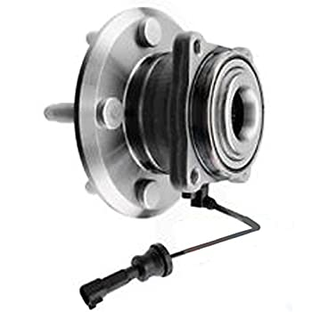 FWD or AWD Pair for 10-17 Chevy Equinox Front Wheel Bearing Hubs