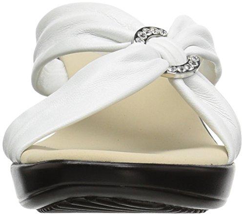Sandalo Con Zeppa Onice Donna Bianco