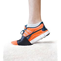 Tiranté Sliders™ for Carpet or Rubber floors – Latest Stylish Accessory in Workout Footwear – Dance in Sneakers and Protect Knees – Money Back Guarantee - By Slip-On Dancers® (Black, X Large)