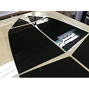 LEXEN computer Pre-Cut Complete Tint Kit for All Windows