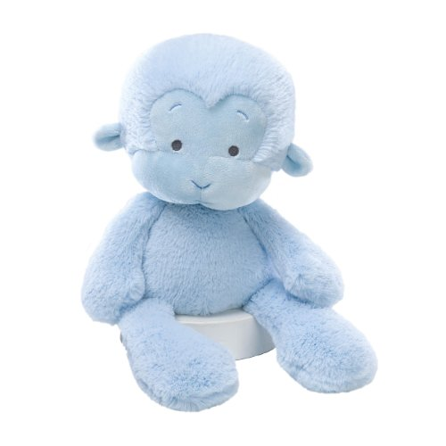 Plush Blue Monkey - Gund Baby Meme Monkey 14