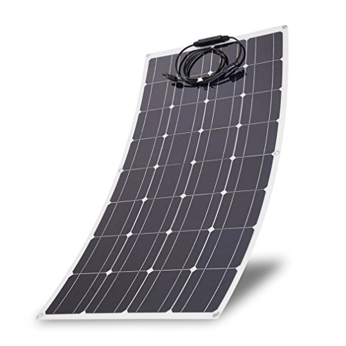 Kath 150W Monocrystalline Flexible Solar Panel Module Outdoor Solar Power System Size:36.61