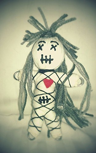 Authentic Voodoo Dolls (Voodoo Doll Small Dead Face Karma Keepers Authentic Voodoo Doll, 7 Pins, Color Guide, Instructions)