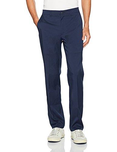 PGA TOUR Men's Motionflux 360 Flat Front Pants with Active Waistband, Black Iris, 40 x 32 (Pant Motion)