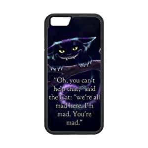 iPhone 6 Protective Case - Cheshire Cat Hardshell Cell Phone Cover Case for New iPhone 6