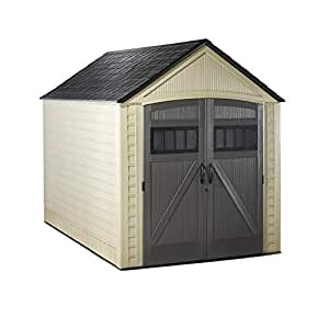Amazon.com: Rubbermaid Roughneck Storage Shed, 7x10.5