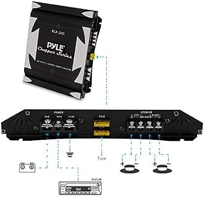Pyle PLA2200 1400W 2 Channel Bridgeable Mosfet Amplifier