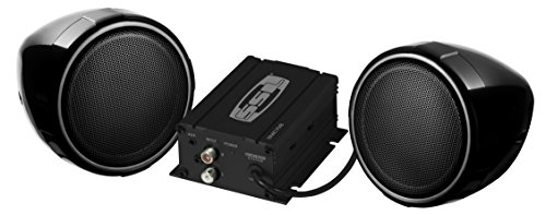 Sound Storm SMC70B Sound System, Weatherproof, Bluetooth Amplifier, 3 Inch Speakers, Inline Volume Control, ideal for Motorcycles/ATV and 12 Volt - Town Stores Chesterfield Center