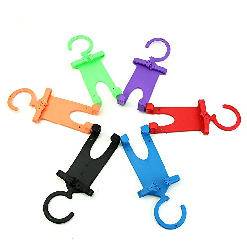 NNDA CO Cartoon Finger Ring Holder Stand Mount Universal For iPhone 6 Samsung Cell Phone(Purple) ()
