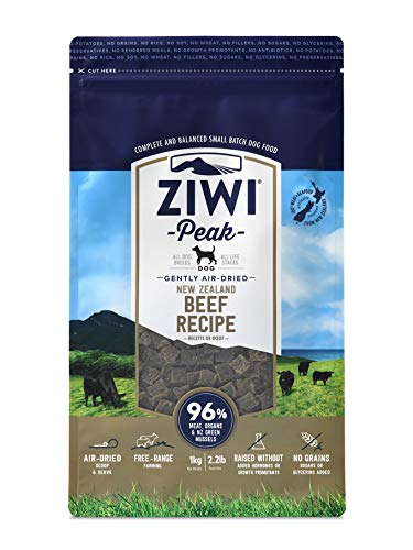 Ziwi Peak Air-Dried Beef Recipe Dog Food (2.2lb)