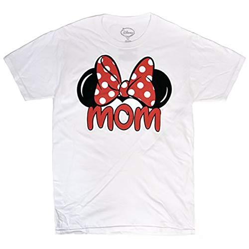 2019 Halloween Minnie Mouse Costume (Disney Minnie Mouse Tee Women T Shirt Mom Fan Fashion Top (X-Large,)