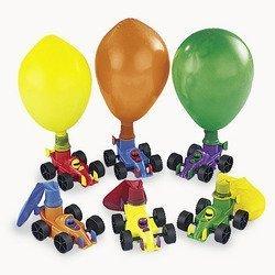 Plastic Race Car Balloon (Balloon Racers)