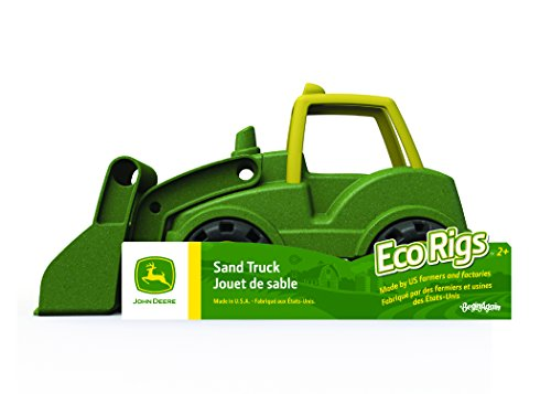 BeginAgain - John Deere Front Loader Toy, Perfect for Boys and Girls and for Promoting Imagination and Active Play, Made in the U.S.A with Eco Friendly materials (For Kids 2 and Up)