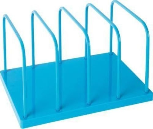 Poppin File Sorter Organizer for Desk - Office Supply (blue)