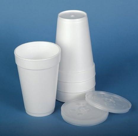 Amazoncom Dart Styrofoam Cups Lid For 8 Oz Cup Qty Of 1000