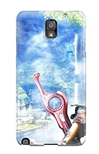 Ultra Slim Fit Hard LeeJUngHyun Case Cover Specially Made For Galaxy Note 3- Xenoblade Chronicles Anime Fantasy
