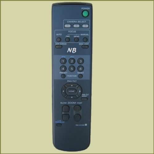 RM-EV100 InfraRed Remote Control for Sony PTZ Cameras EVI-D100-D70-D30, BRC-300, BRC-H300, BRC-H700, BRC-Z700, BRC-Z330, SNC-RZ30, ()