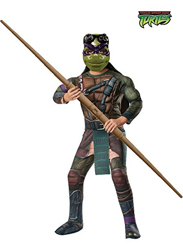 Rubie's Teenage Mutant Ninja Turtles Deluxe Muscle-Chest Donatello Costume